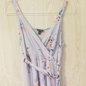 Torrid light blue print dress size M/L New with ta